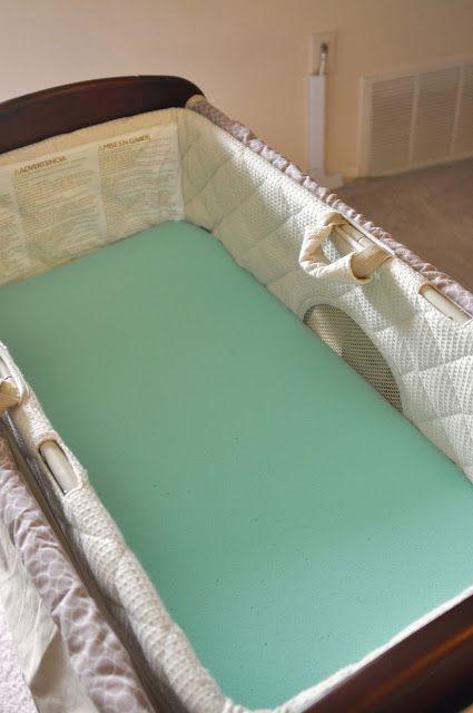 making a bassinet mattress