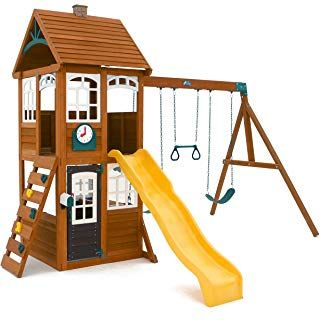 Big Backyard by Solowave McKinley Wooden Playset SHOP NOW ...
