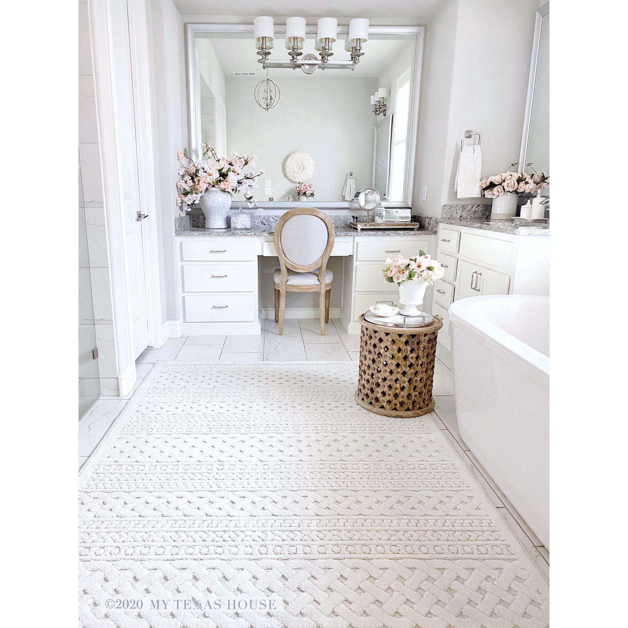 My Texas House By Orian Jessie Area Rug Walmart Com In 2021 Large Bathroom Rugs Master Bathroom Decor Bathroom Rug Ideas Master [ 2000 x 2000 Pixel ]