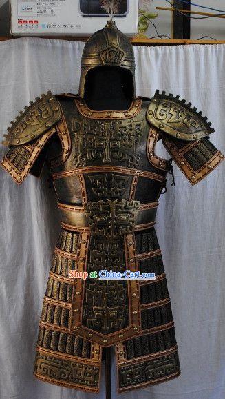 8a747eb55 Chu Han Dynasty Cavalier Armor Costumes Complete Set | Armored ...
