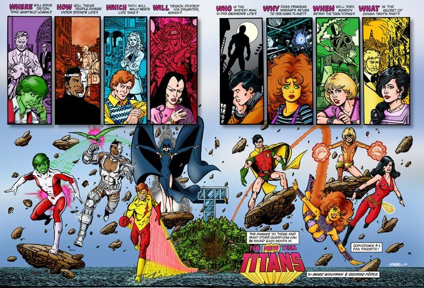 George Pérez on Pinterest | Justice League, Teen Titans and The ...