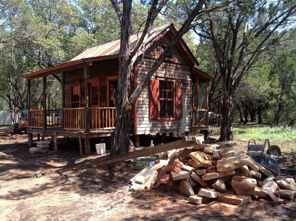 Merveilleux Micro Cabin, Found Online At The Tiny Texas Houses Facebook Page.