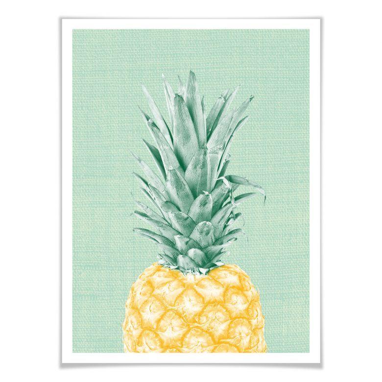 Poster mit Bilderrahmen Pineapple | Bilderrahmen, Poster und Bilder