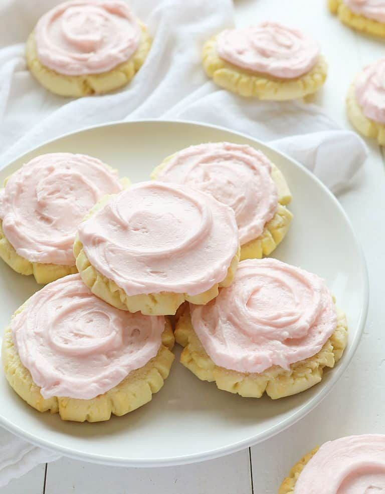 These beautiful cookies are the BEST tasting sugar cookie you will ever try!! Extensively tested and approved!