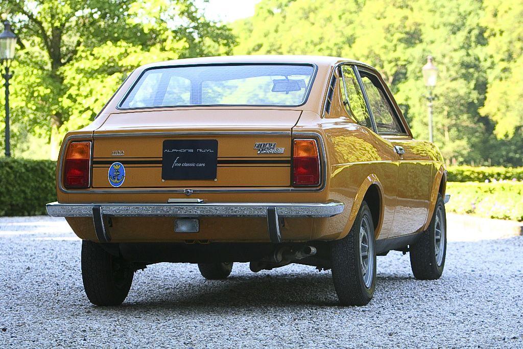Fiat 128 Sl Coupe Veicoli Anni 70