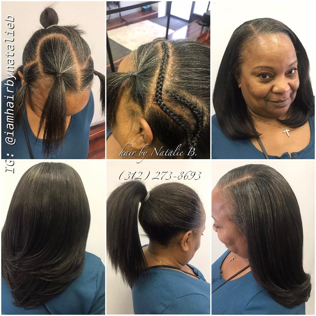Mature classy rfect pony sew in hair weave by natalie b perfect pony sew in hair weave by pmusecretfo Image collections