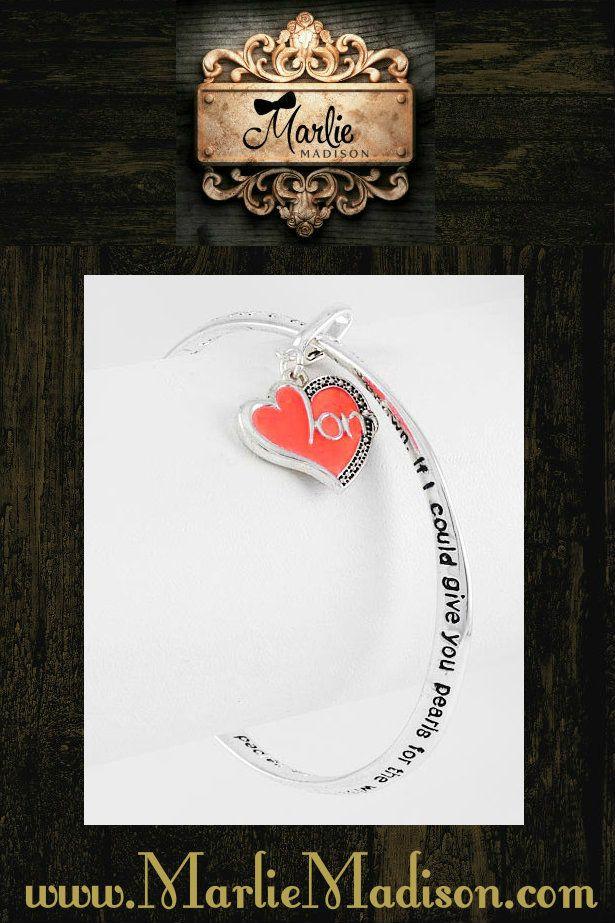 """""""Mother's Prayer"""" Bracelet http://www.marliemadison.com/accessories/jewelry/mother-s-prayer-bracelet"""