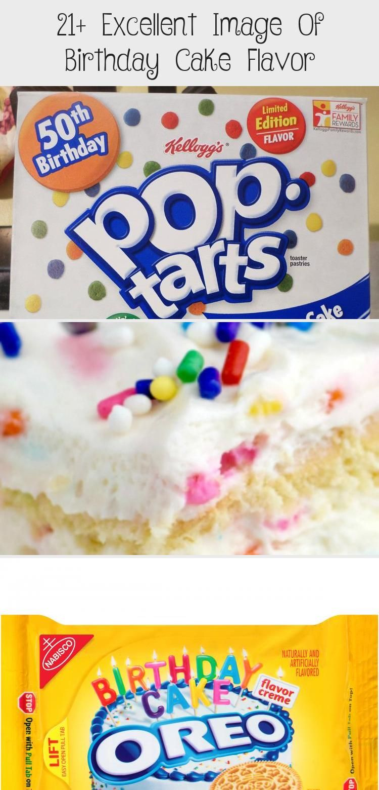21+ Excellent Image Of Birthday Cake Flavor in 2020