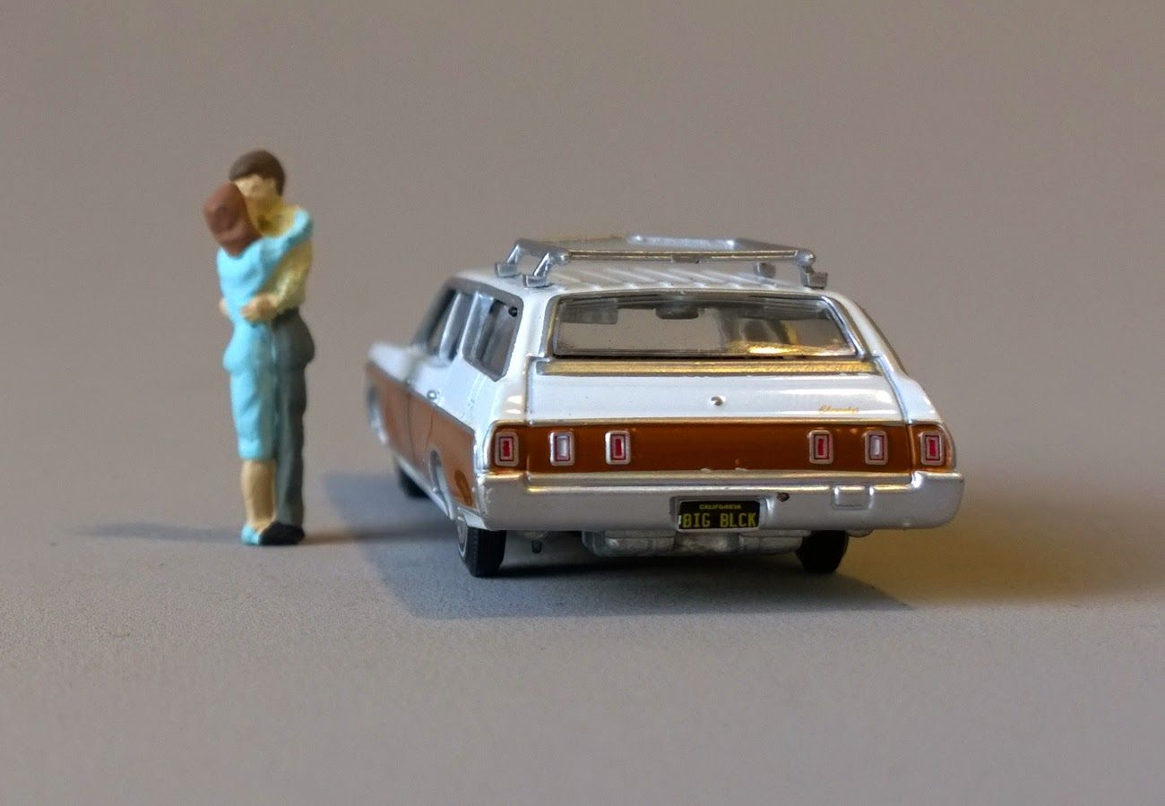 Sixty Four Ever Diecast: 1969 Chevy Kingswood Estate by Auto World ...