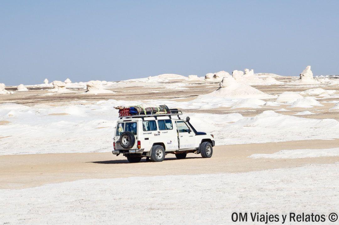 El desierto Blanco en Egipto. Un lugar que hay que conocer en Egipto.