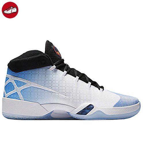 Nike Herren Air Jordan Xxx Basketballschuhe, Weiß / Schwarz / Blau (Weiß /  Schwarz