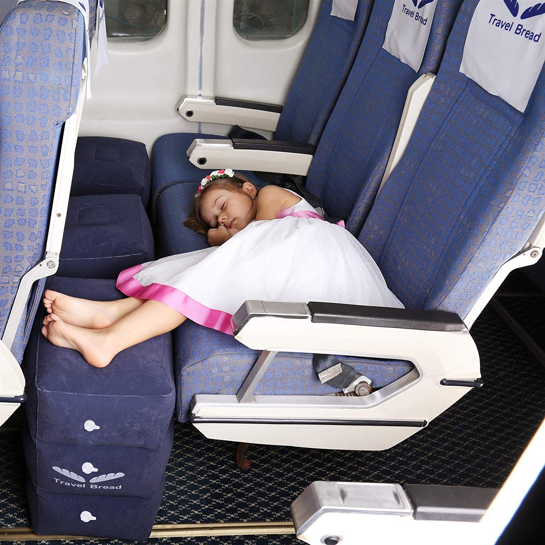 Amazon Com Travel Bread Foot Rest Pillow 3 Valve 3 Level