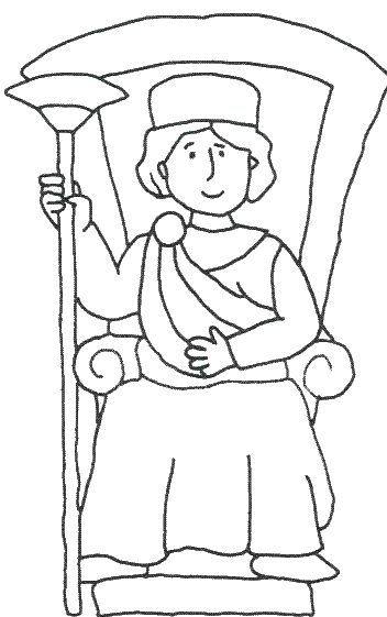 King Solomon Coloring Pages King Solomon Solomon Sunday