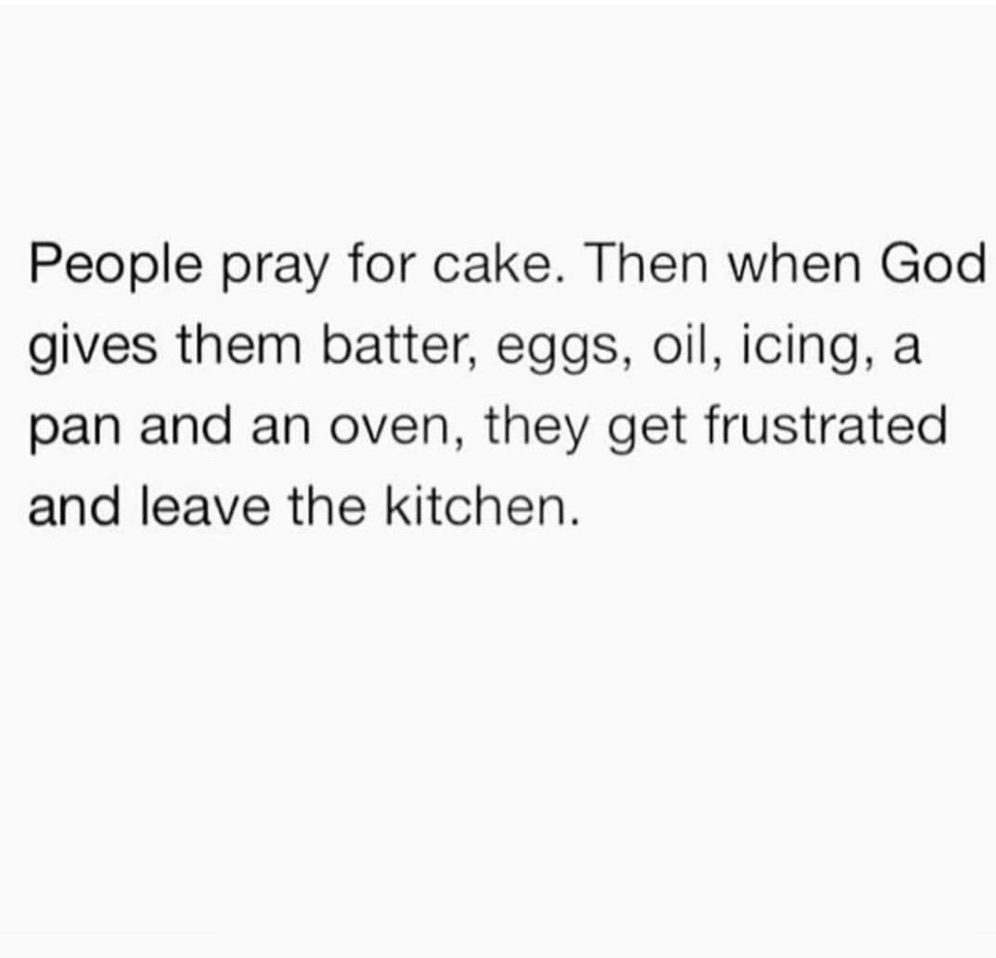 Image result for People pray for cake