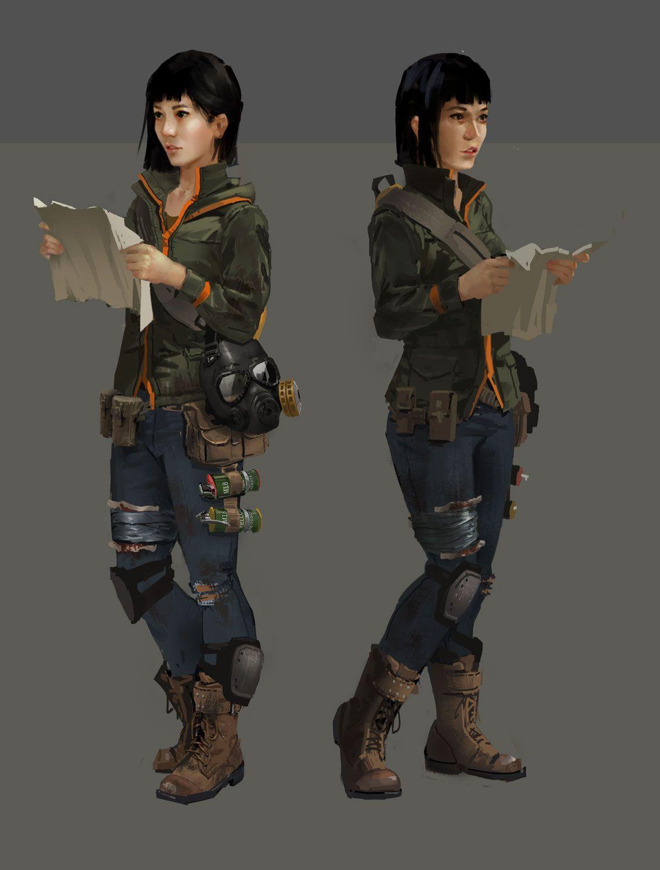 Post Apocalyptic Japanese Girl By Gloriousryan On Deviantart Apocalypse Character Post Apocalyptic Art Apocalypse Survivor