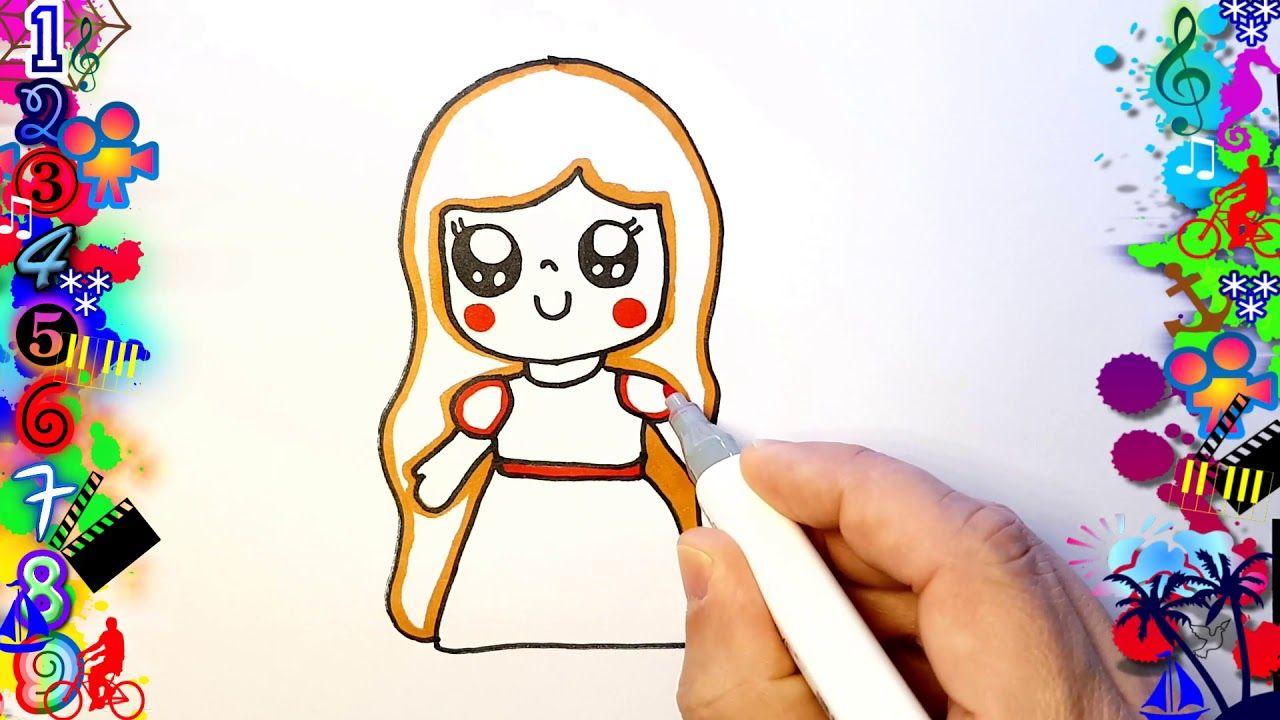 Princesa Kawaii Facil De Dibujar Para Ninas Dibujos Dibujos Faciles Para Ninos Dibujos Faciles Princesas Dibujos
