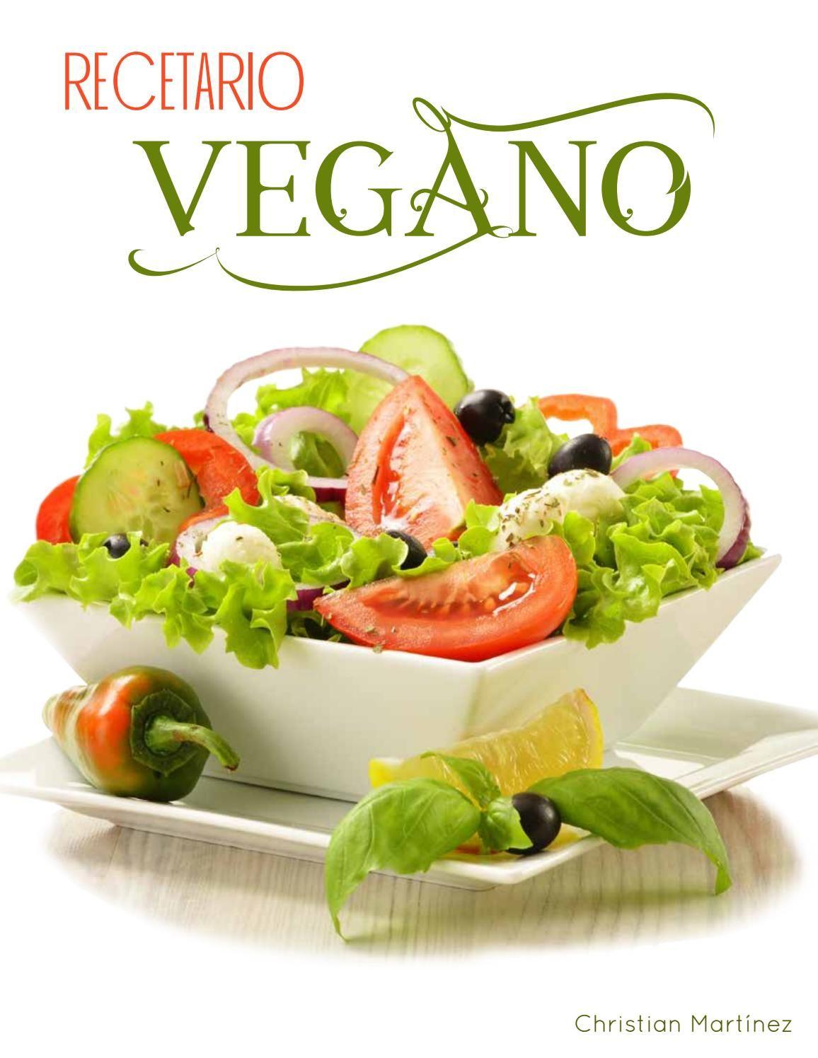 Recetario Vegano en 2019  Food