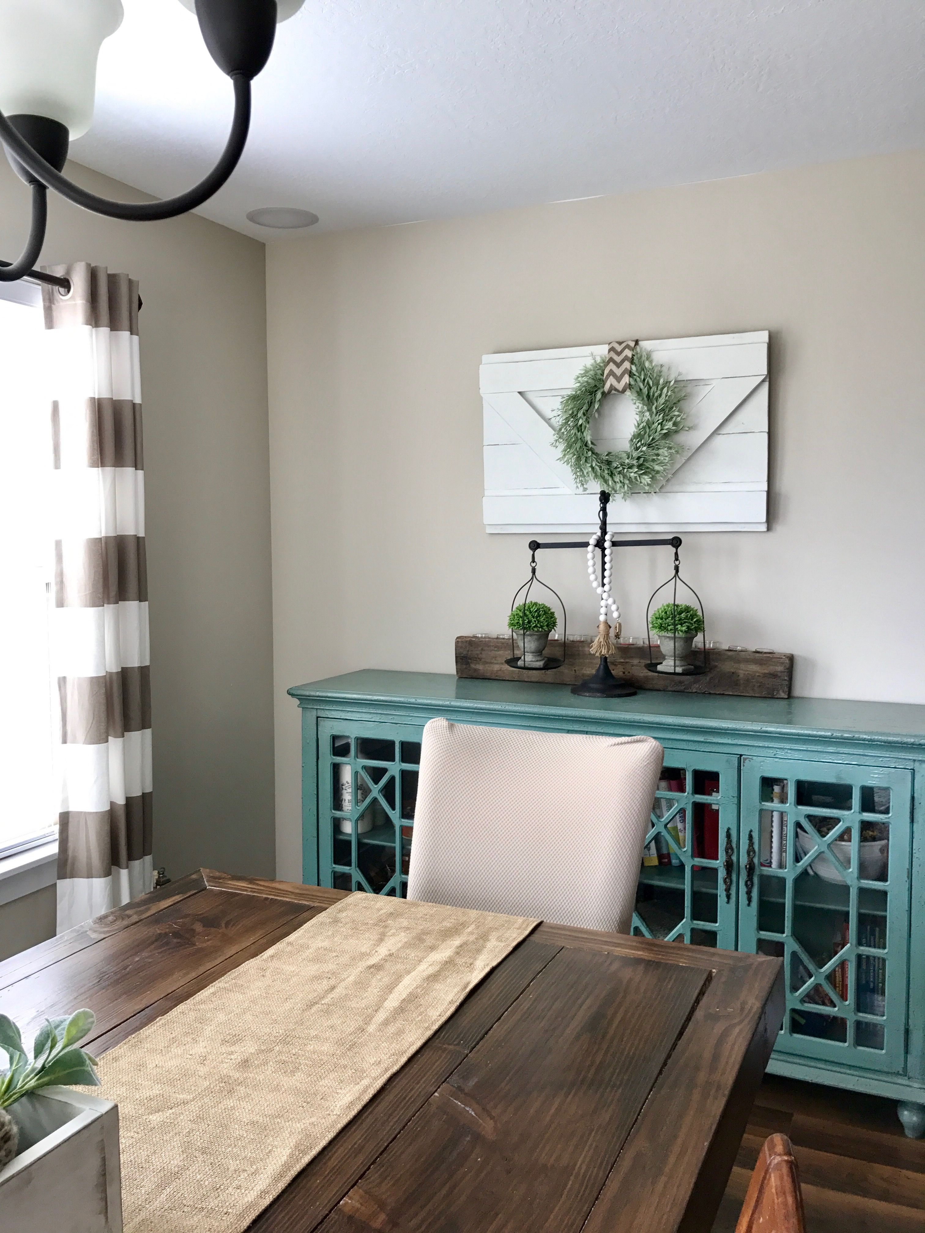 Extra Large Decorative Wood Shutter. Rustic Wall Decor. Farmhouse Shutter.  Barn Door Style. Interior Shutter. Wreath Holder. Shiplap Sign
