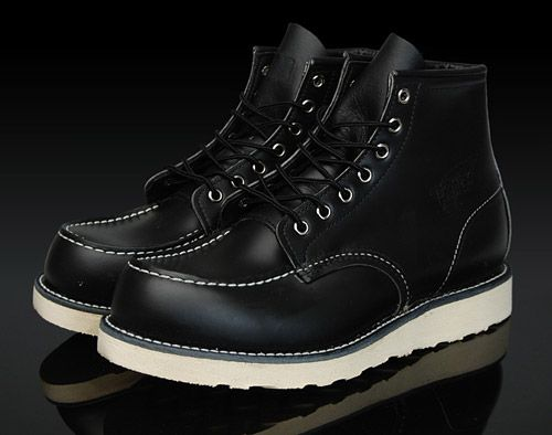 Red Wing Work Boot OG Collection | Black, Wings and Mobiles
