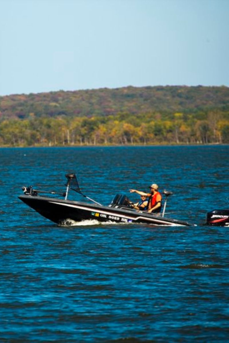 Sequoyah Bay Statepark Is A Paradise For Water Sports And Camping Along The 225 Mile Shoreline Of Fort Gibson Lake Near Wagone