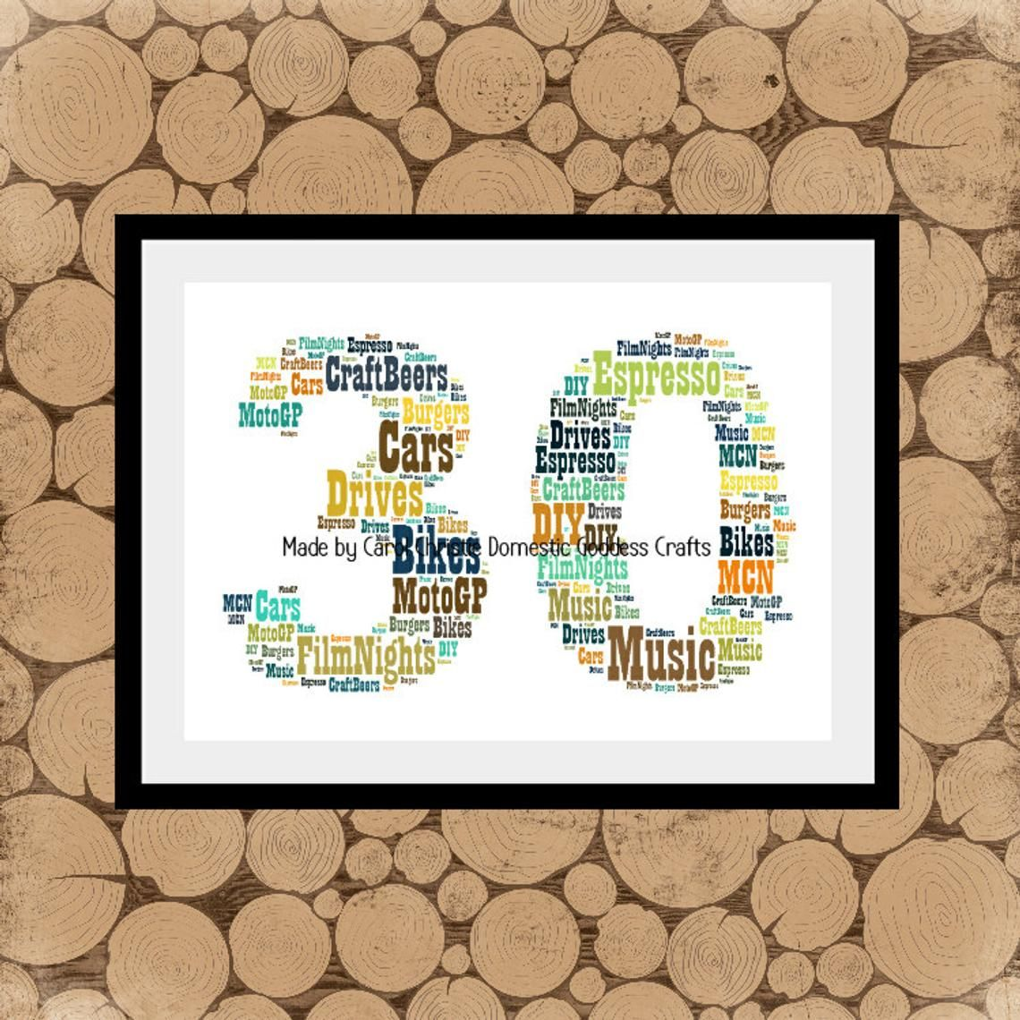30th Birthday Gift Personalised Anniversary Gift Pearl