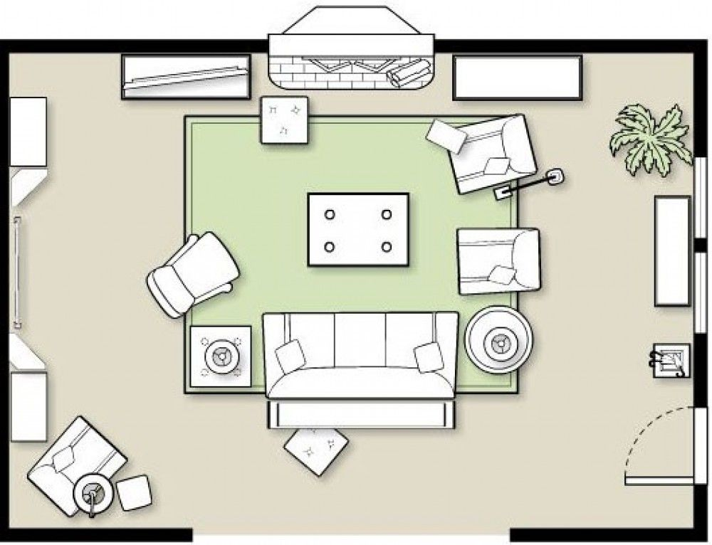 How To Arrange Furniture In A Family Room Livingroom Layout