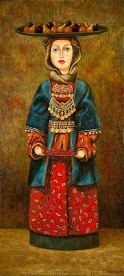 Zviad Gogolauri, Caucasian Woman