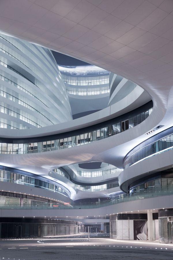 The Galaxy SOHO by Zaha Hadid Architects