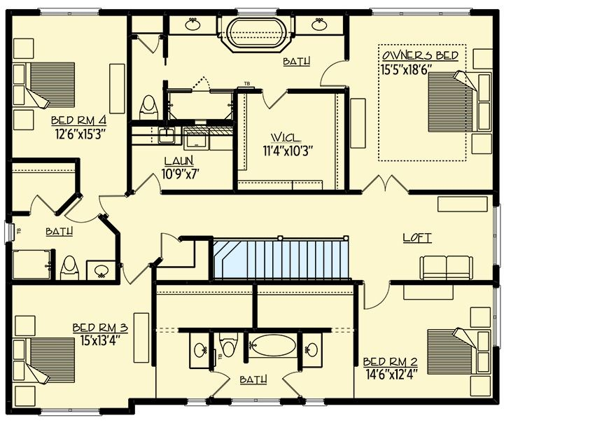 Plan 73359HS: Exclusive Storybook Craftsman House Plan with ...