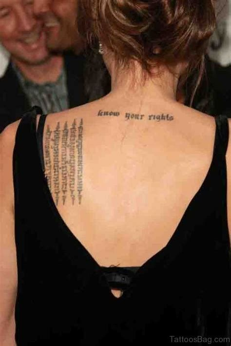 Back Shoulder Tattoo Roman Numerals – Tatto Variant
