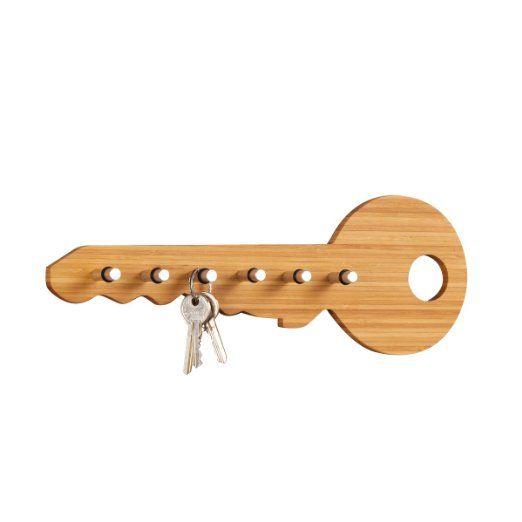 Zeller 13590 colgador de llaves con forma de llave 35 x for Perchas para colgar llaves