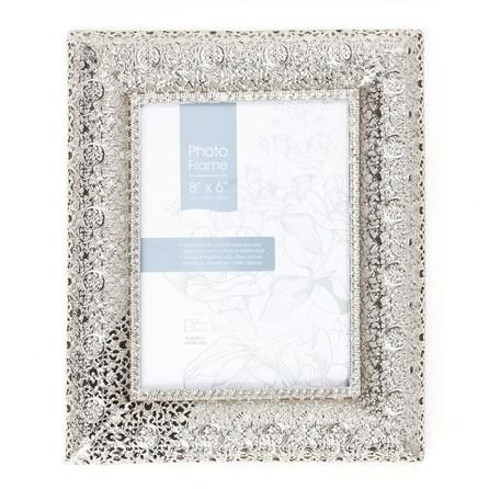 Silver Moroccan Photo Frame | Dunelm | My cosy home | Pinterest ...
