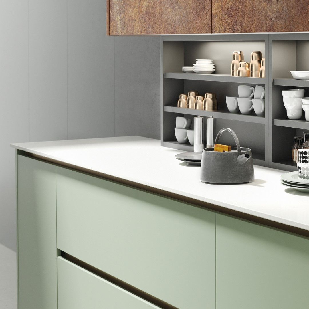 Milano Copper Slate wall units, Slate midway units and