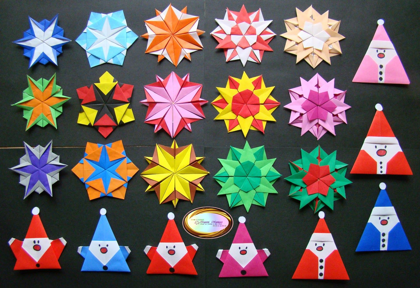 Various origami for christmas origami pinterest origami