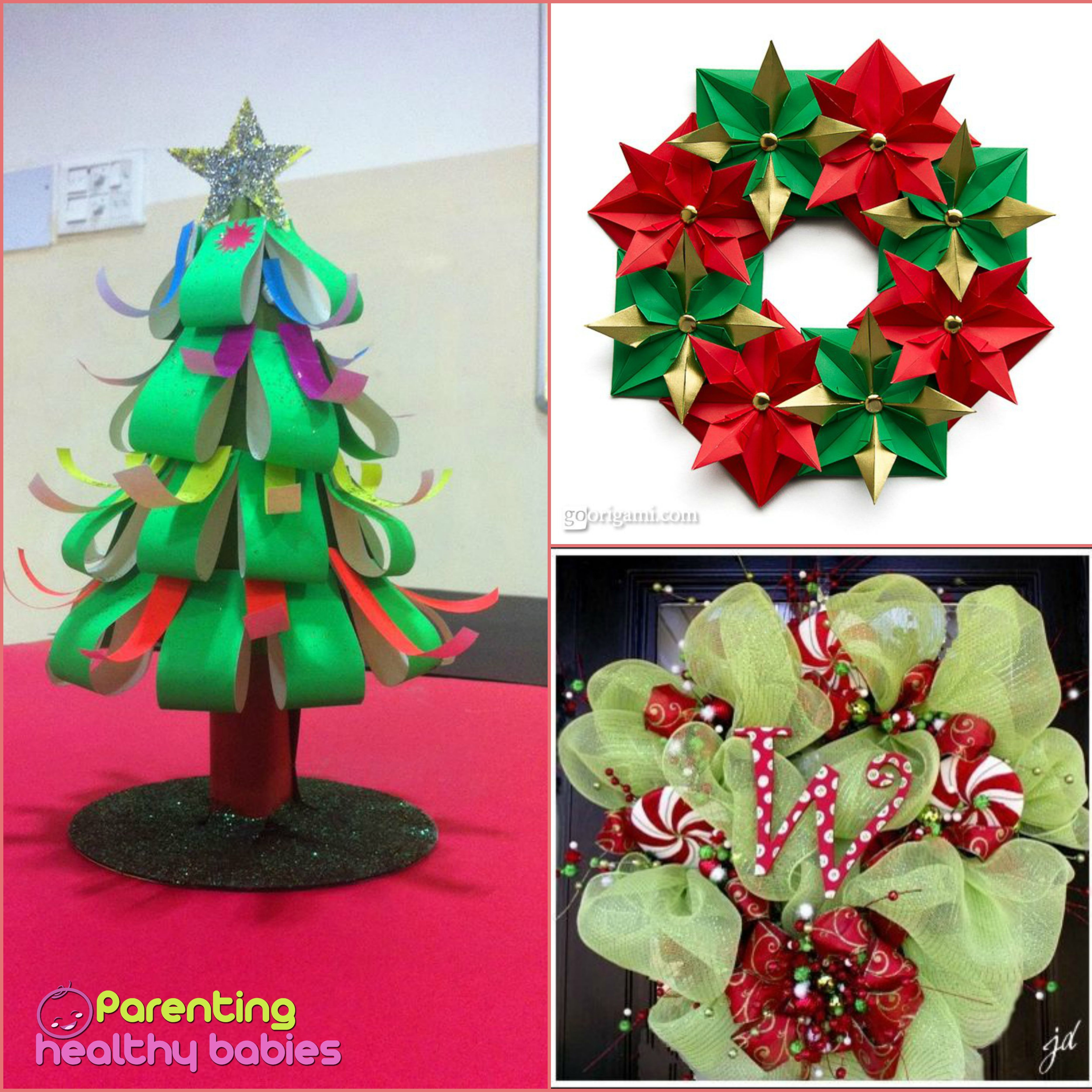 Free quick and easy Christmas crafts for kids Christmas crafts