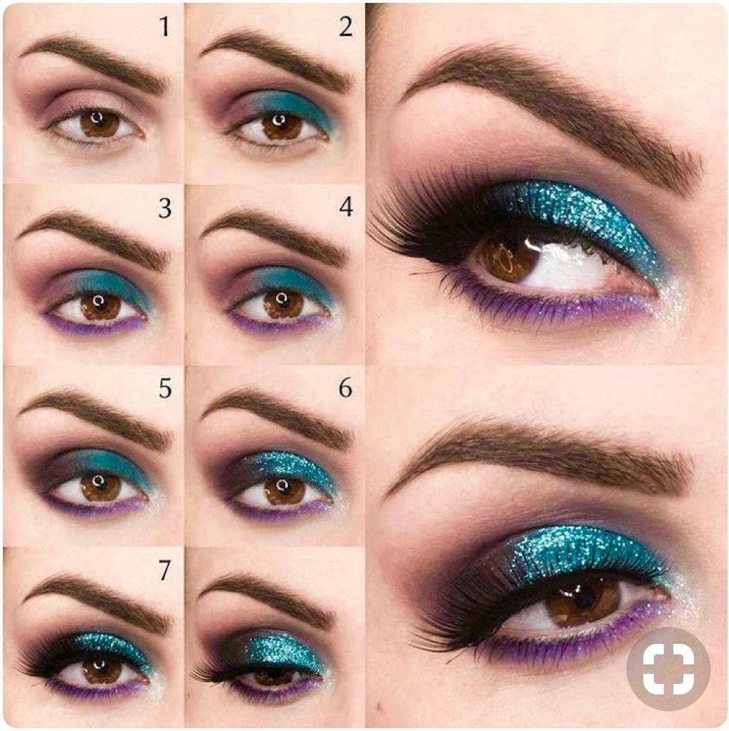 Pin by Sadia Khaliqu on TUTORIELS ️ Eyeshadow for brown