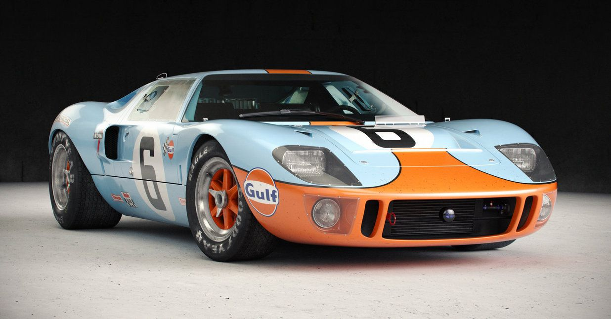Iconic Cars Of The 60 S Ford Gt40 Ford Gt40 Ford Gt Ford Racing