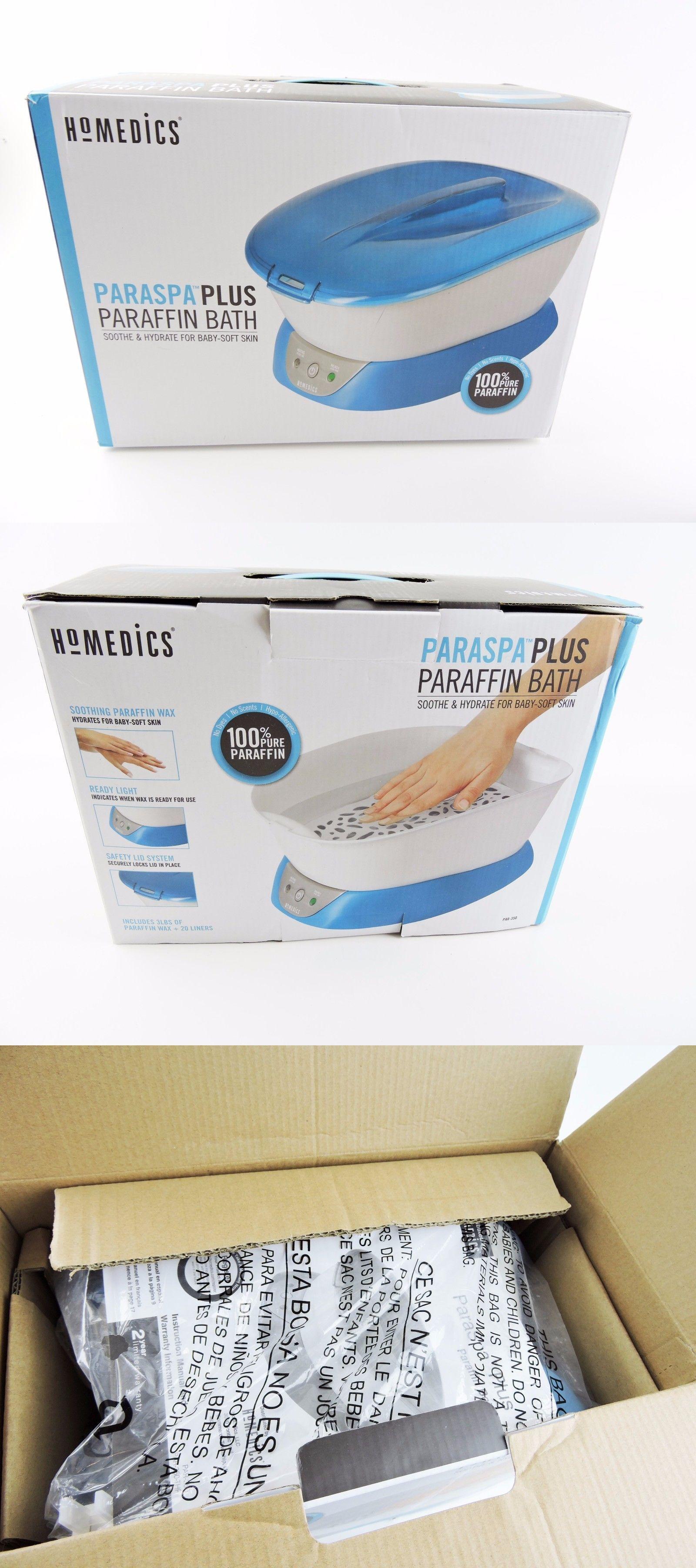 Spas Baths and Supplies: Homedics Paraspa Plus Paraffin Bath Par-350 ...