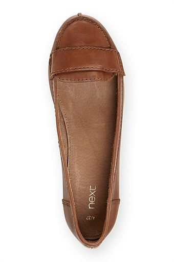 Next Soft Leather Loafers