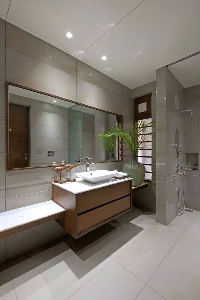 Feel like you're on a weekend getaway every day of the week with these simple but chic rustic bathroom styles. Pin by C.k. Cheng on Design   Bathroom designs india ...