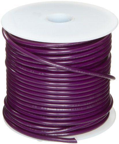 GPT-M Automotive Copper Wire, Violet, 12 AWG, 0.0808\