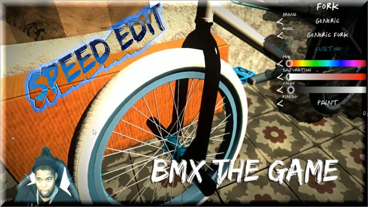 bmx the game bike color speed edit iced out