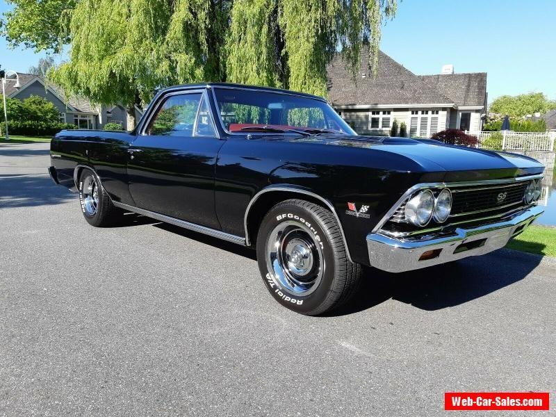 1966 Chevrolet El Camino Chevrolet Elcamino Forsale Canada