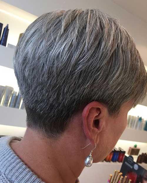 Cortes de pelo cortos 2019 para mujeres mayores »Peinados 2019 Nuevos peinados y colores de cabello