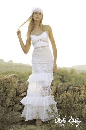 charo ruiz 324 - outlet 2014 - vestidos de novia -- sedka novias