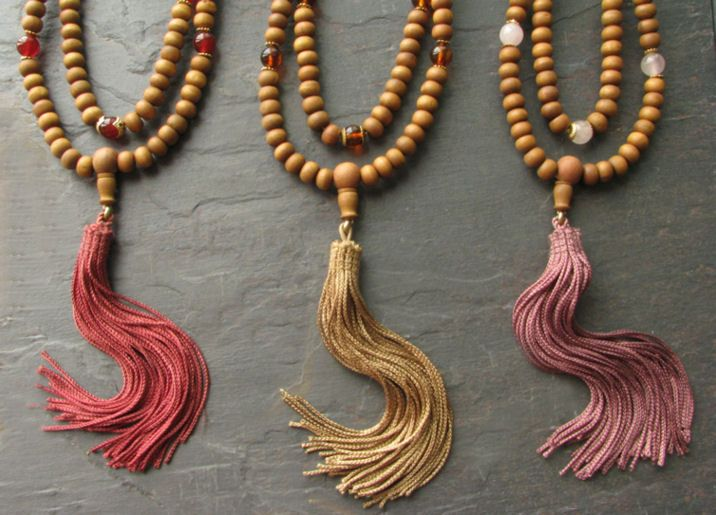Tassel Malas-Tibetan Prayer Beads-Buddhist Malas-Shakya Design