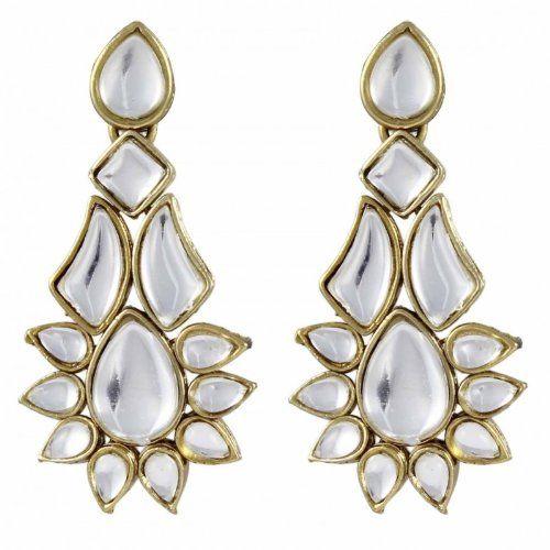 Aalia Kundan Earrings Online At Low Prices In India Jewellery