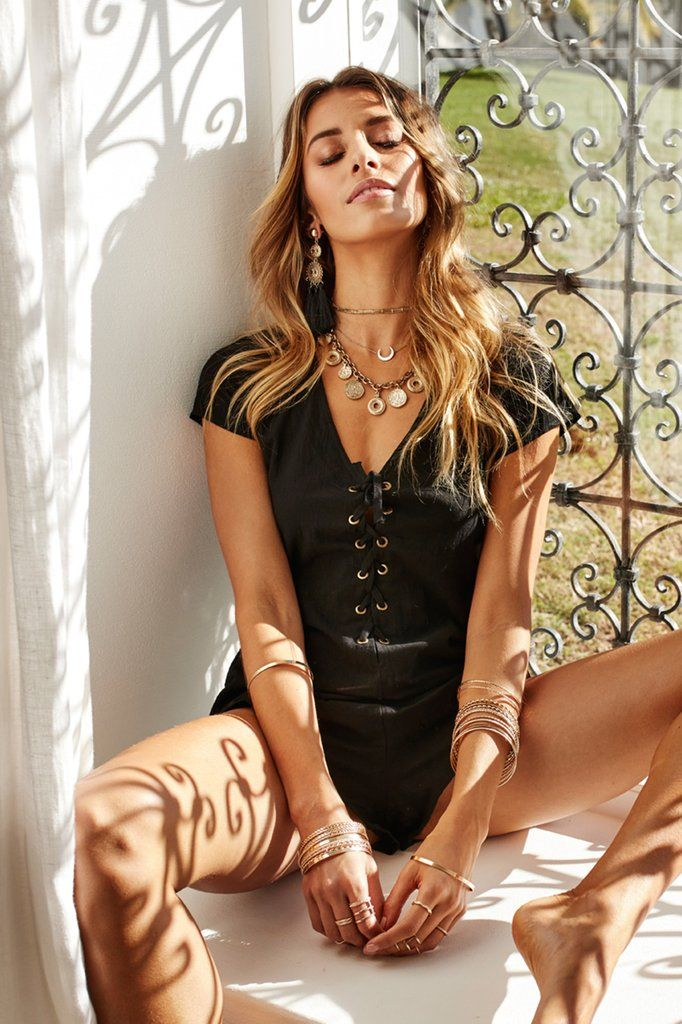 31f525969f Hands On You Playsuit (Black)