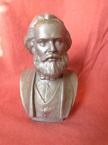 Russian Soviet USSR bust Metal Writer Tolstoy Lev statue sculpture