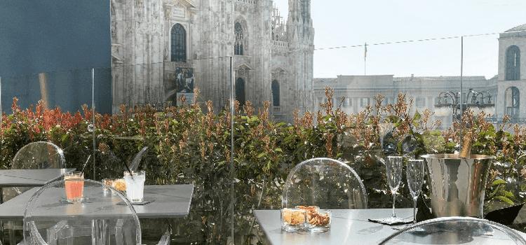 Duomo 21 Terrace, Restaurant fencity (con immagini
